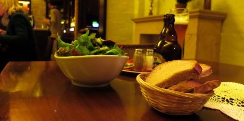 wenn der Salat kracht, ist er frisch ...
