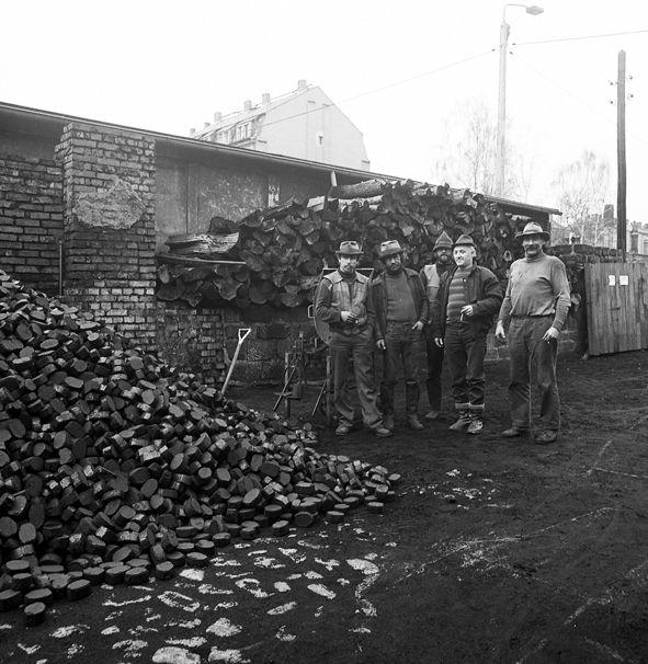 Ähnliche Ausmaße hatte der von ursprünglich anvisierte Kohlenhaufen. Foto: Günter Starke