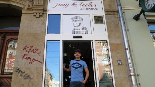 Seit dem 1. Oktober kocht Steffen Jung an der Königsbrücker Straße