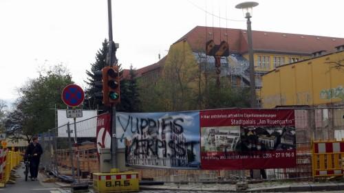 Wohnungsbauprojekte sind in der Neustadt oft sehr umstritten