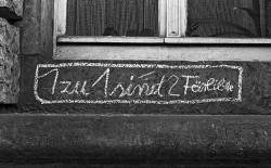 DDR-Graffiti - Motiv aus dem neuen Kalender