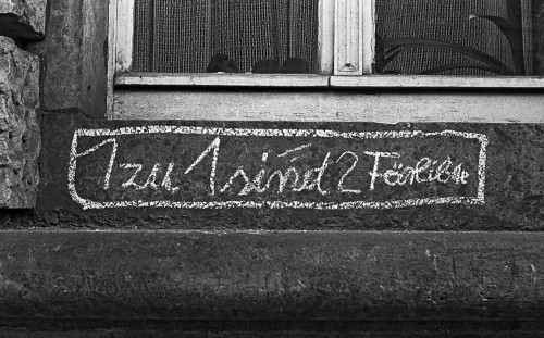 DDR-Graffiti - Foto: Günter Starke