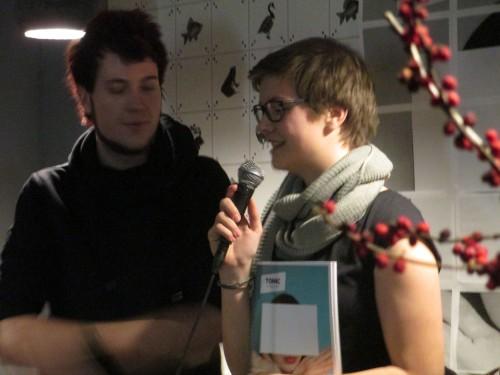 Juliane Goetzke, Chefredakteurin, steht Rede und Antwort