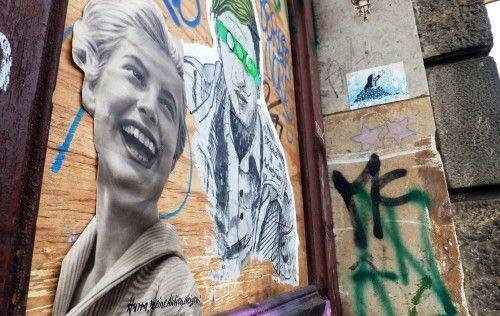 Lachen vs. grüne Augenbinde - am Bischofsweg