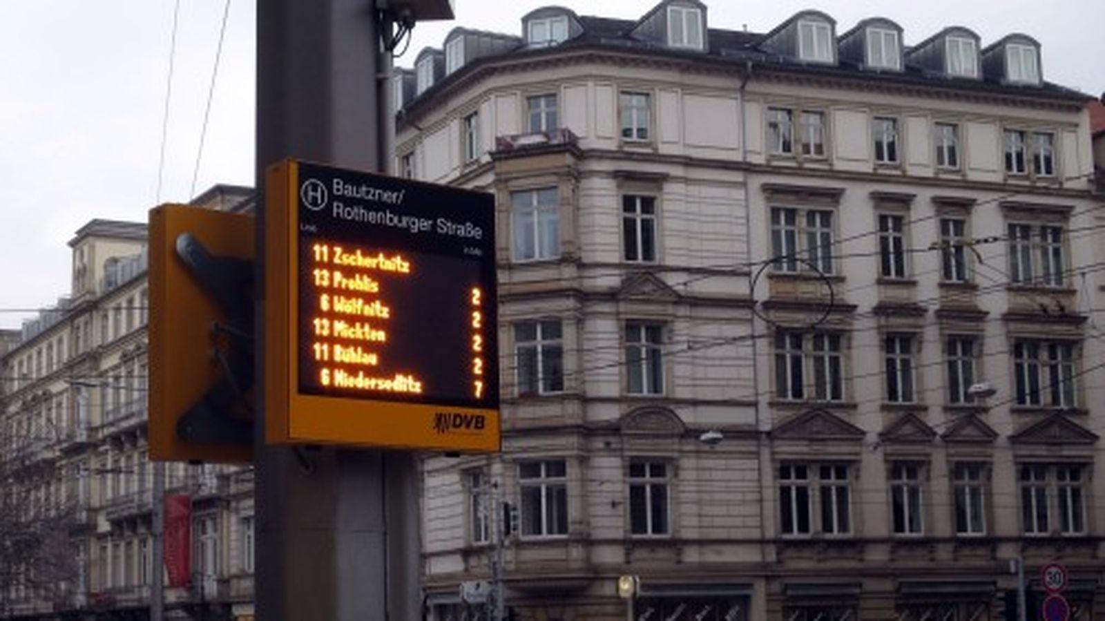 Dynamische Fahrgastinformation oder: wann kommt die Bahn?