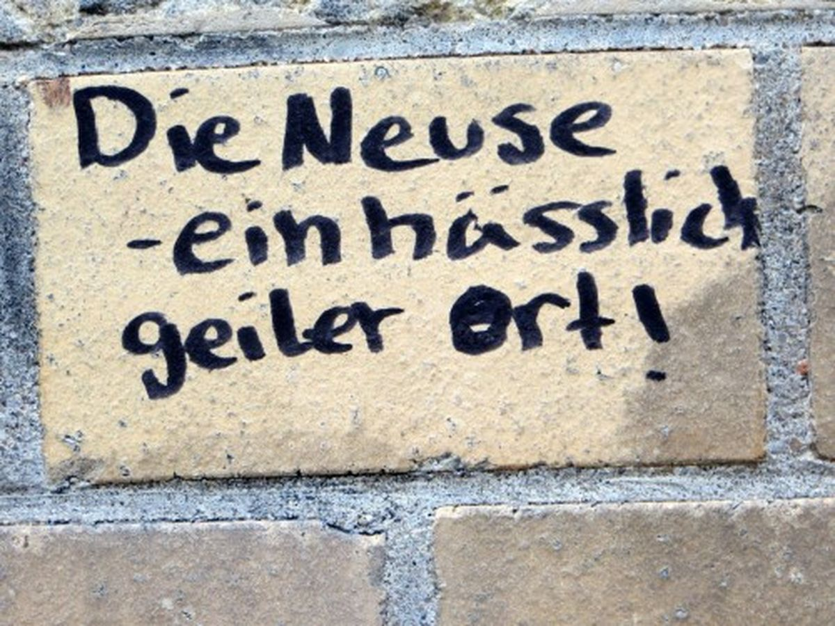 So wird es wohl sein ... gesehen an der Sebnitzer Straße Foto: streetart-dresden.de