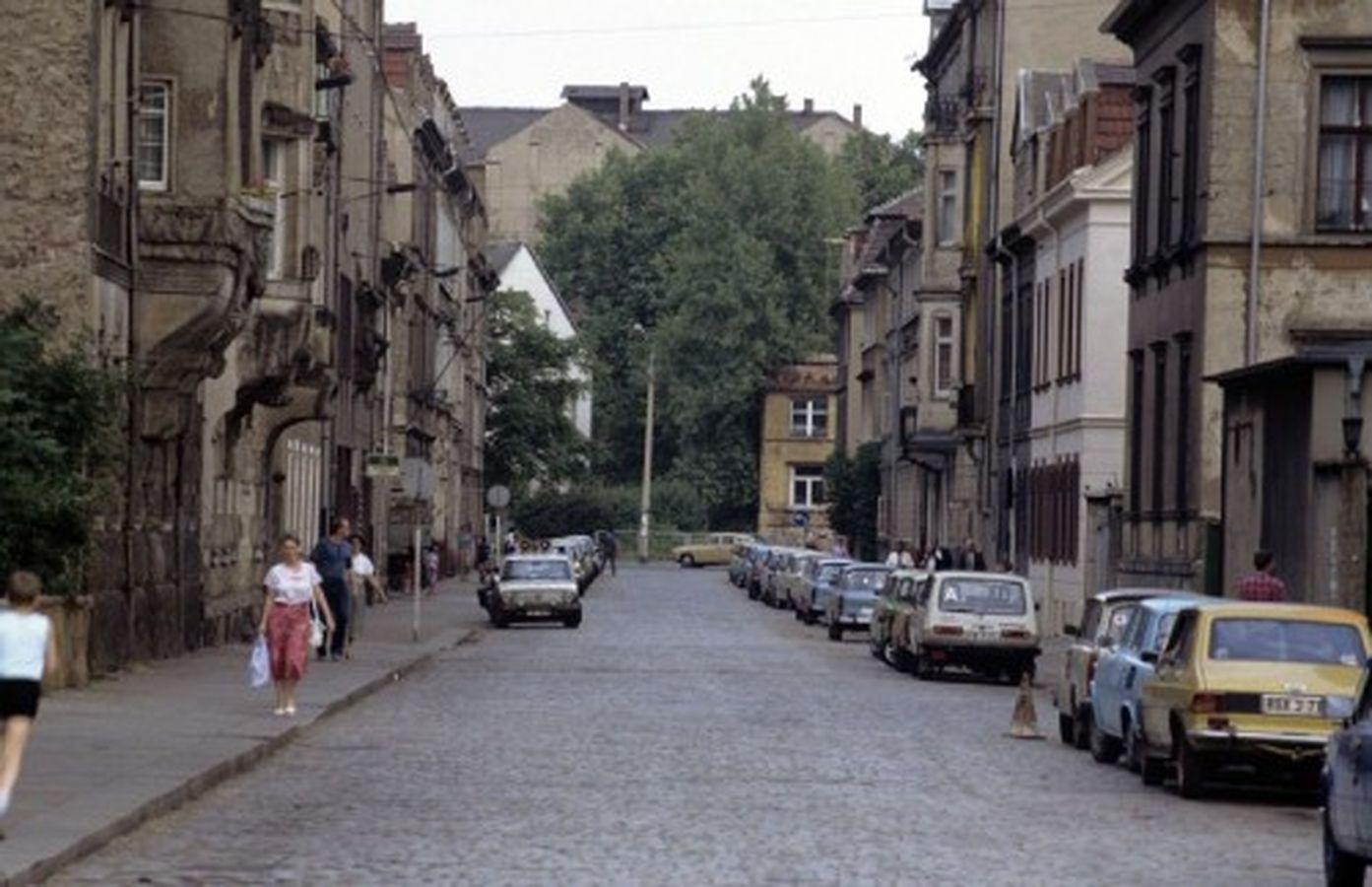1990 war in der Katharinenstraße noch die Volkspolizei beheimatet. Foto: Lothar Lange
