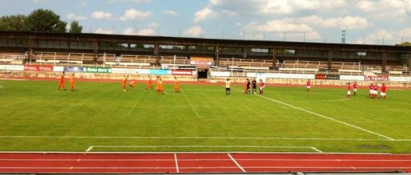 Die Party im Heinz-Steyer-Stadion verlor der SC Borea mit 4:2 nun soll am Sonntag die Revanche folgen.