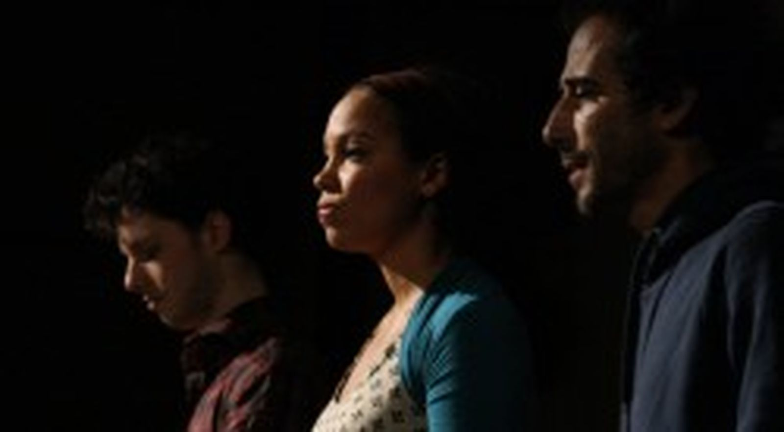 Szenenbild: Asylmonologe im Projekttheater