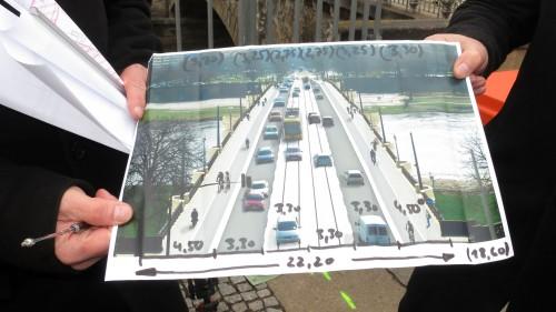 So soll die fertige Brücke aussehen.