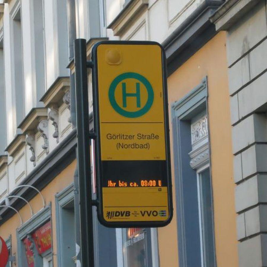 Haltestelle Rothenburger Straße