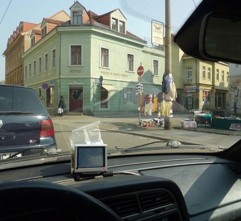 Der Beweis: Neustadt-Geflüster-Leser Jonk schickte mir diese Innenaufnahme von seinem Auto.