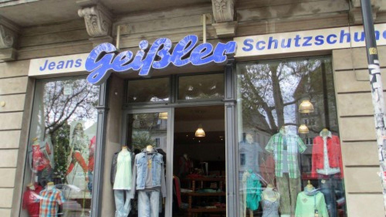 Seit 1991 am Platz, seit mehr als 50 Jahren existent: Jeans Geißler