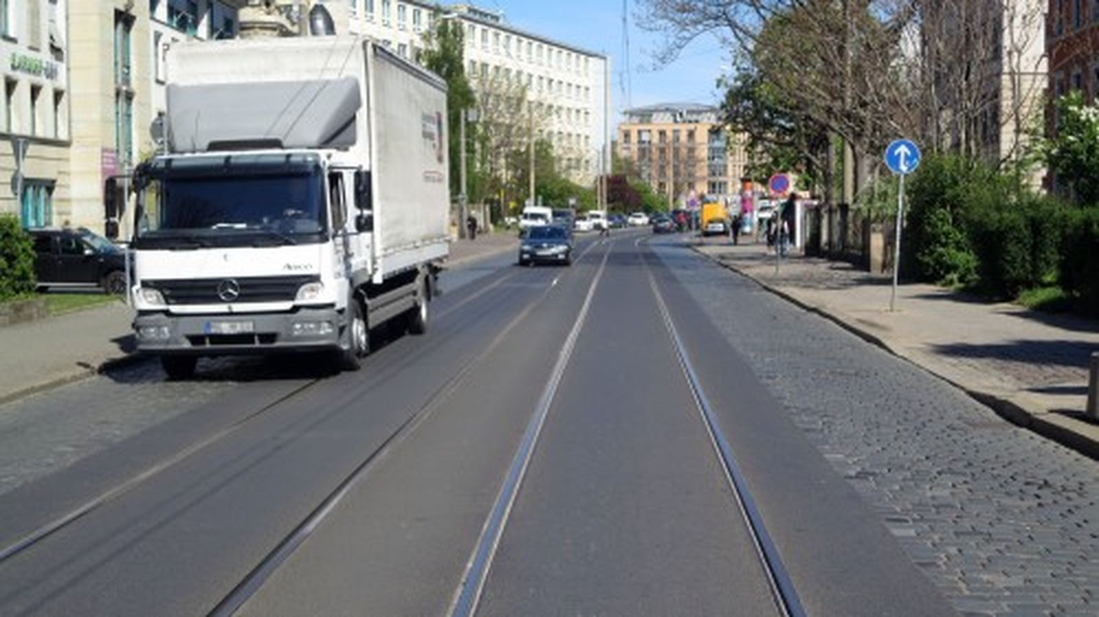 Die Königsbrücker Straße soll ausgebaut werden.
