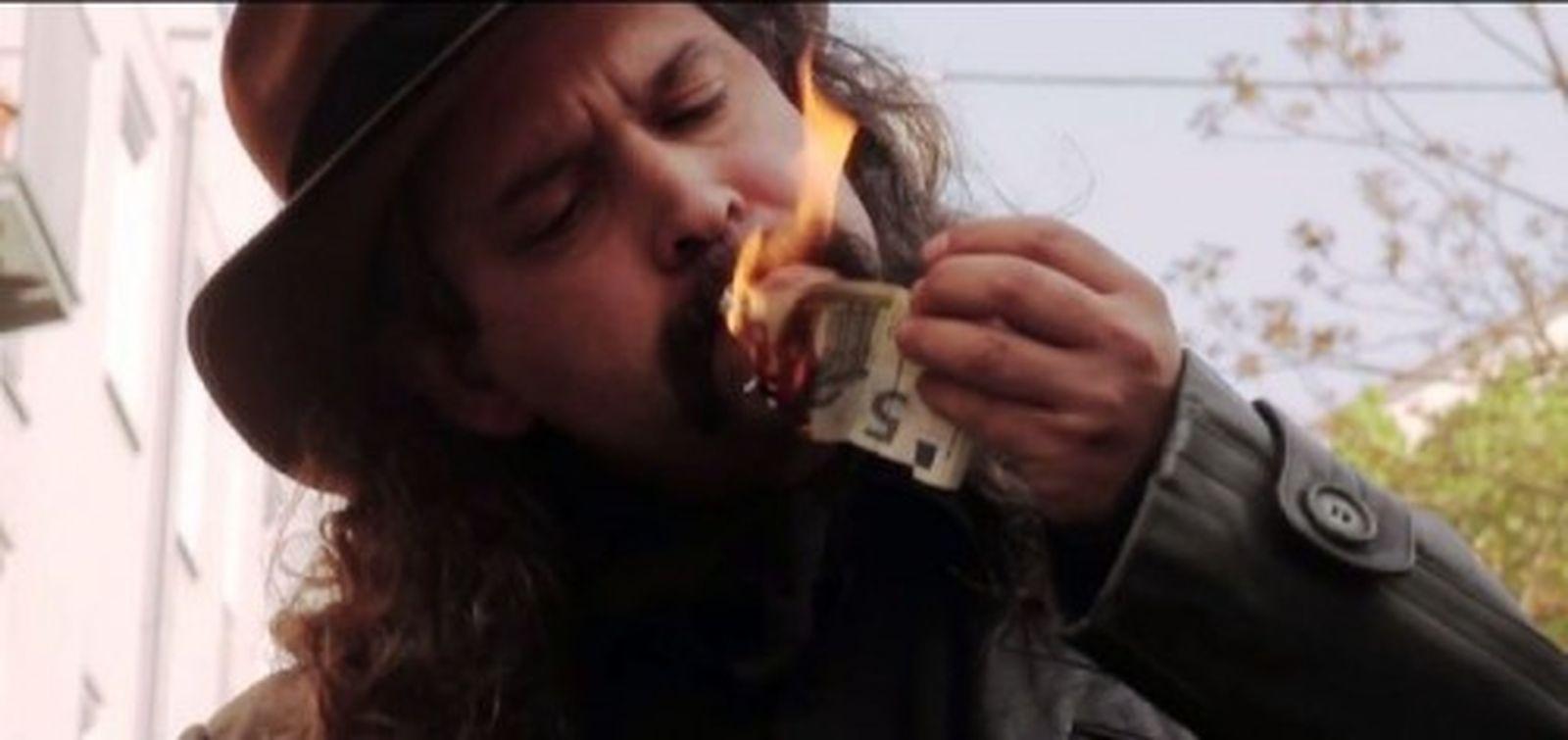 Magnus Hecht als Bösewicht, Foto: Screenshot