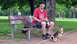 Daniel organisiert den Global Marijuana Marsh in Dresden.
