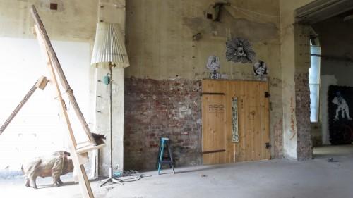 Der Verein nutzt die Räume für Ateliers und Werkstätten
