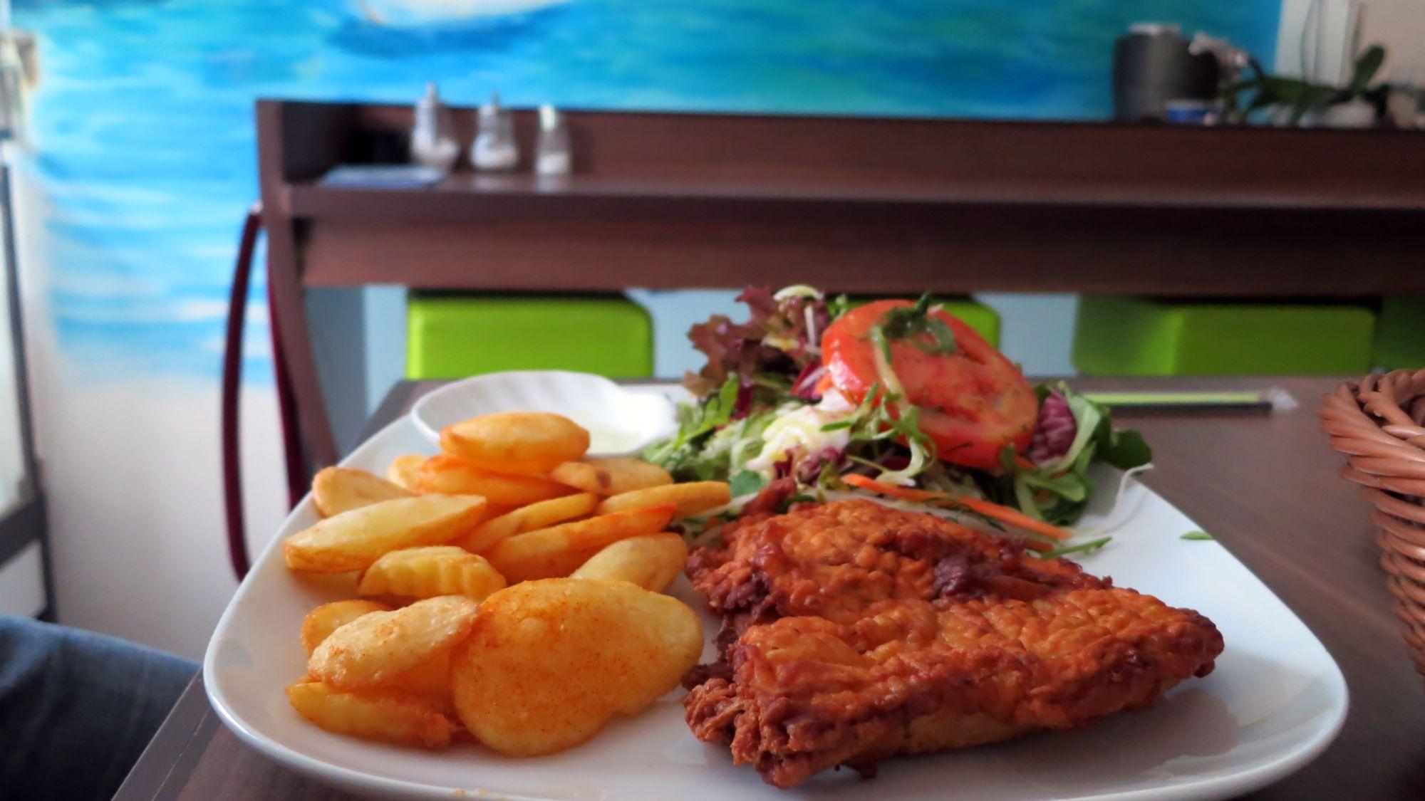 kızartılmış balık fileto oder einfach Backfisch