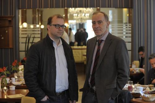Das Gespräch mit Stefan Strauss fand im Café Lloyds statt.