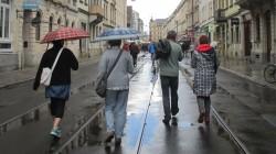 Regen am Sonnabend