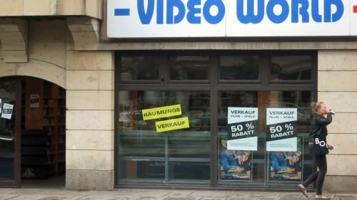 Keine Videos mehr auf der Bautzner Straße.