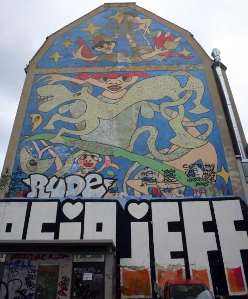 Richaâârds größtes Werk auf der Louisenstraße. In Rekordzeit entstanden.