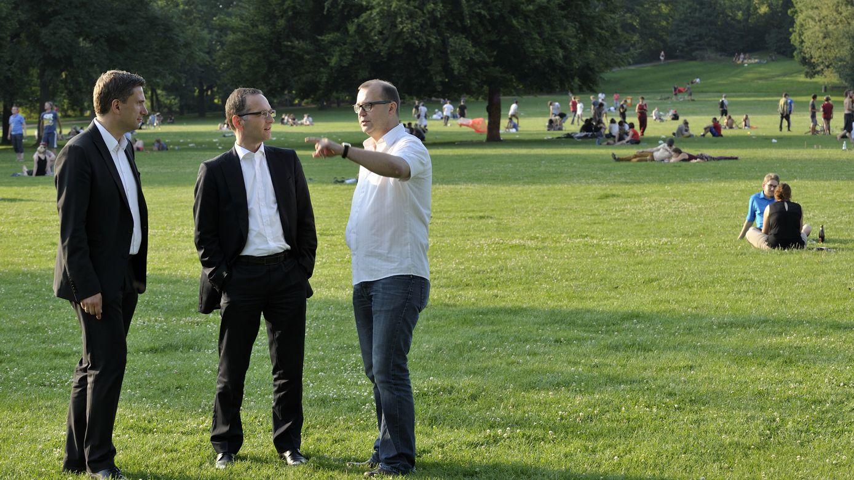 Martin Dulig, Heiko Maaß und Jan Frintert - Foto: Tobias Strahl
