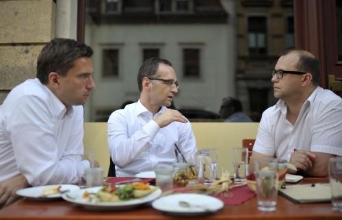 Martin Dulig und Heiko Maas im Interview mit Jan Frintert
