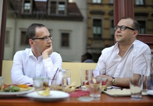 Bundesjustizminister Heiko Maas im Neustadt-Geflüster-Interview