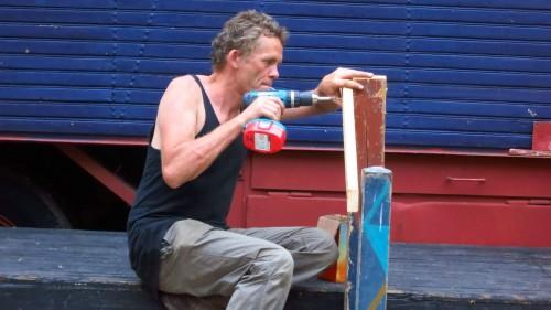 Wenn Künstler zum Handwerker werden: 50 Prozent der künstlerischen Leitung der Buden - Heiki Ikkola