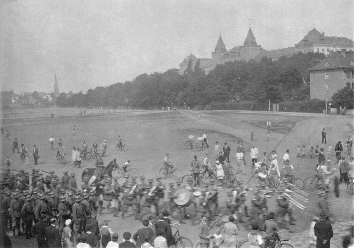 Alaunplatz in den 1930er Jahren.
