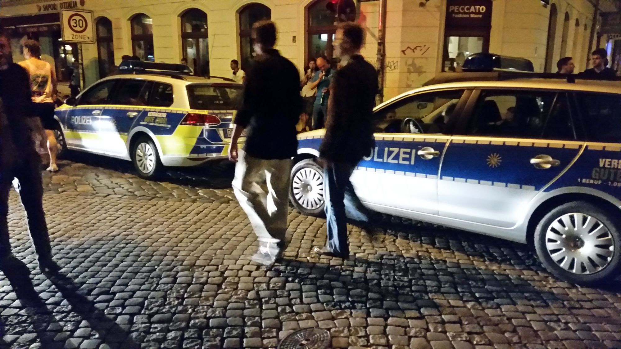 Polizeieinsatz am Kecha