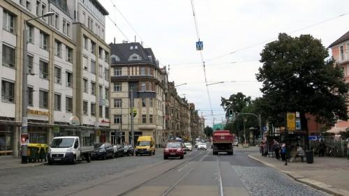 Der Ausbau der Königsbrücker Straße wird wahrscheinlich neu geplant.