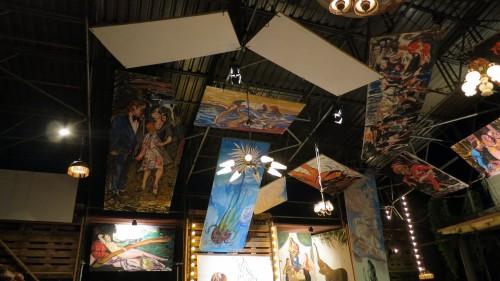 Die Bilder von Christopher Haley Simpson entstanden während des Schaubudensommers.