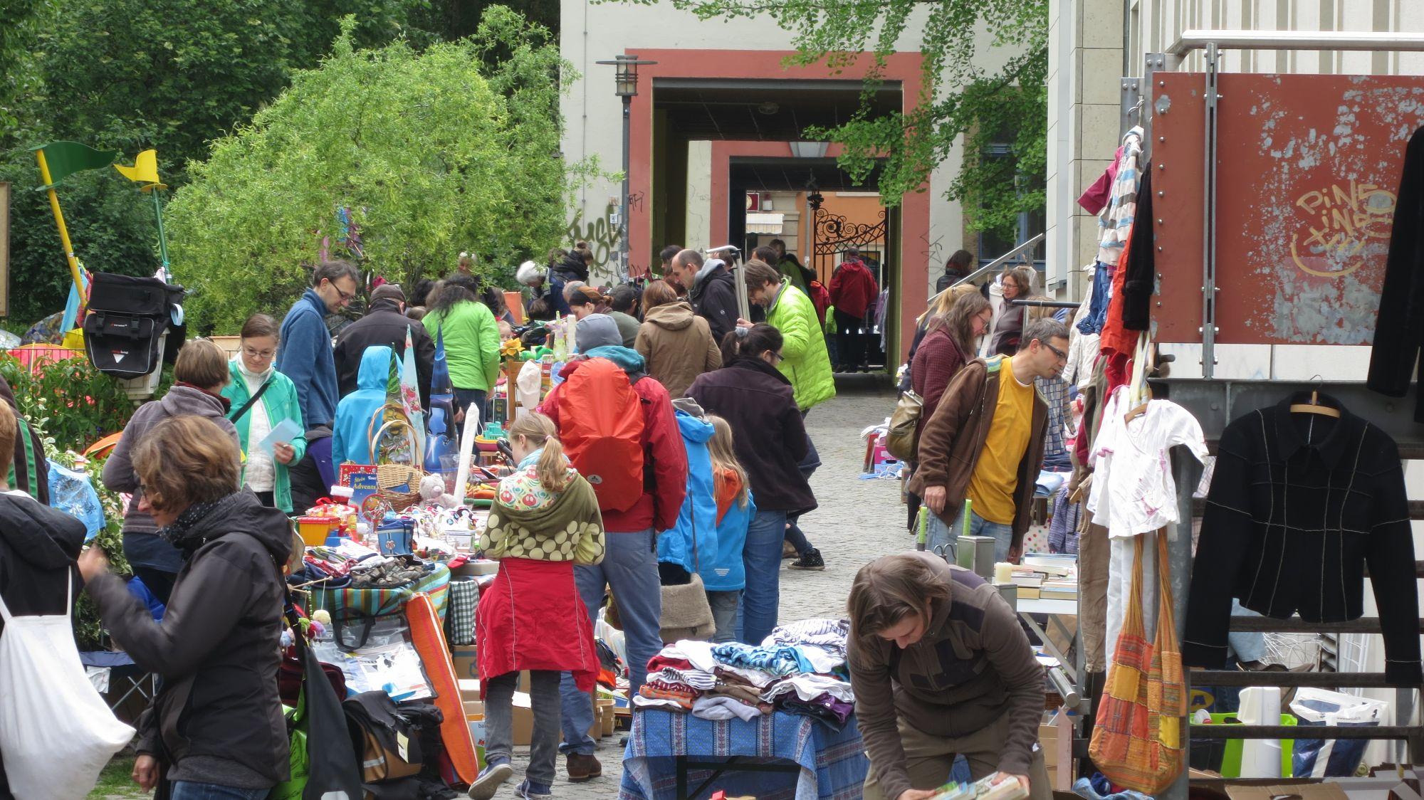 Eindrücke vom 8. Trödelmarkt im Frühjahr