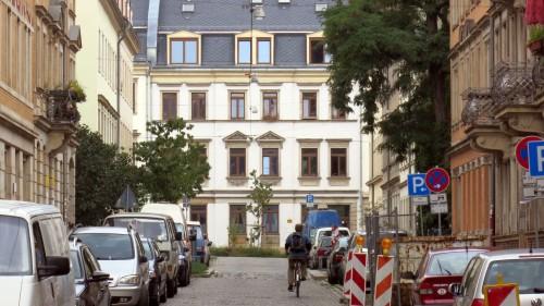 Eine der kürzesten Straßen der Neustadt feiert sich am Wochende selbst.