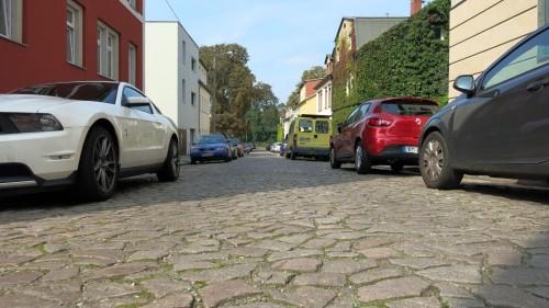 Die Ahornstrasse ist mit ihren etwa 138 Metern sehr überschaubar.