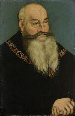 Georg der Bärtige, gemalt von Lucas Cranach d. Ä., Foto: Wikipedia