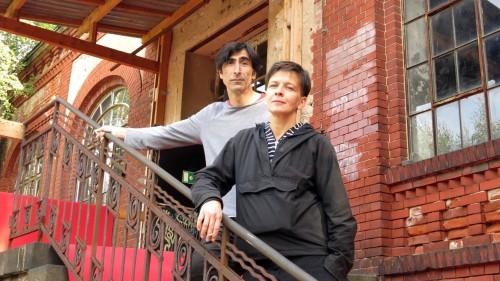 Guram Dobrint und Sabine Köhler: zwei vom Team des Lab 15