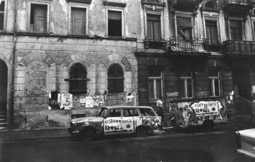 Das Bronxx-Mobil in den 1990ern. Foto: Archiv/Micha