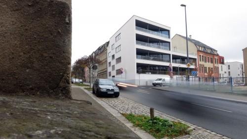 architektonischer Aufreger an der Buchenstraße
