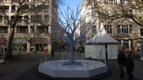 """Augustusmarkt mit """"Weihnachtsbaum"""""""