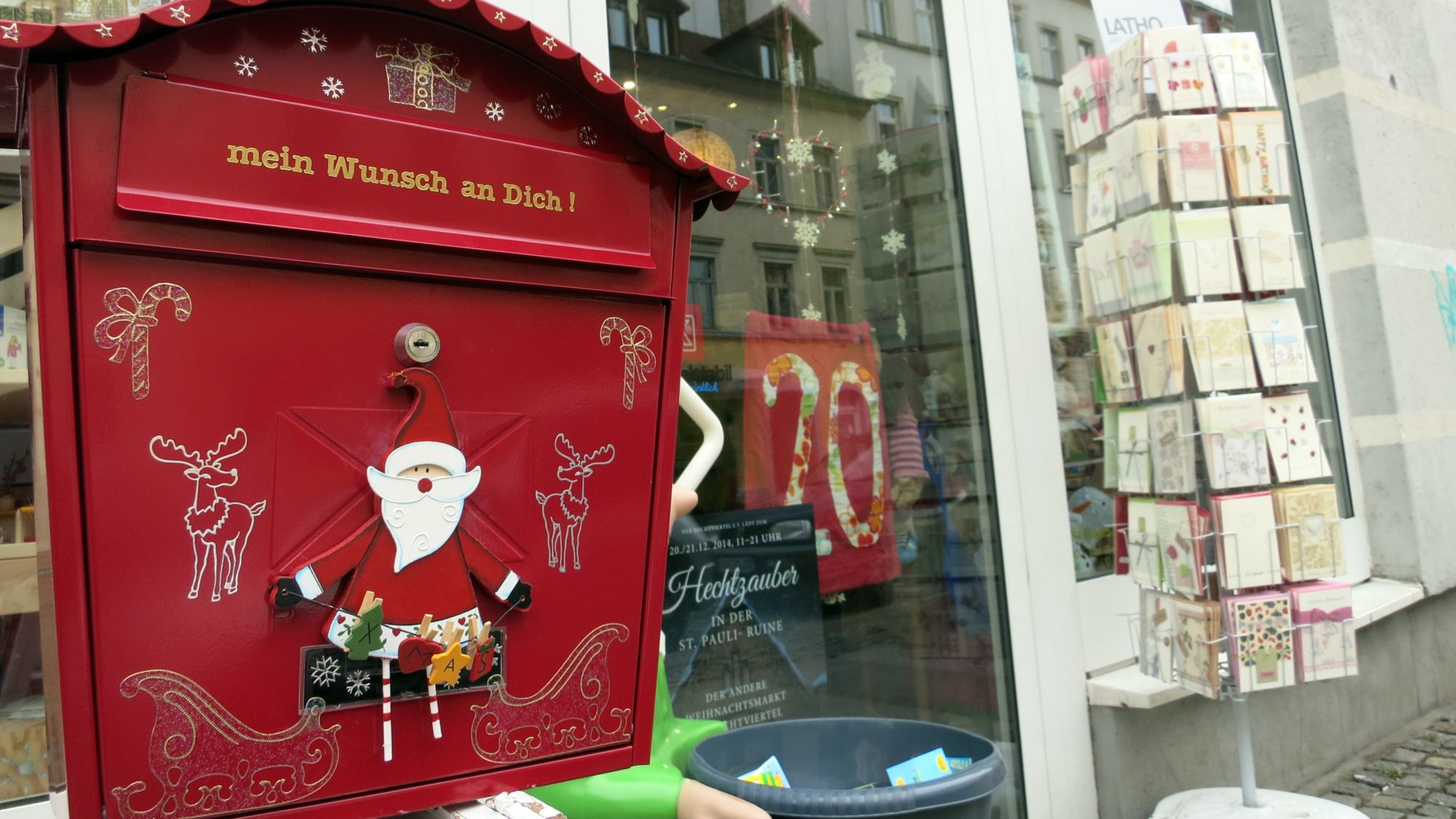Wunschbriefkasten neustadt gefl ster - Bilder weihnachtspost ...