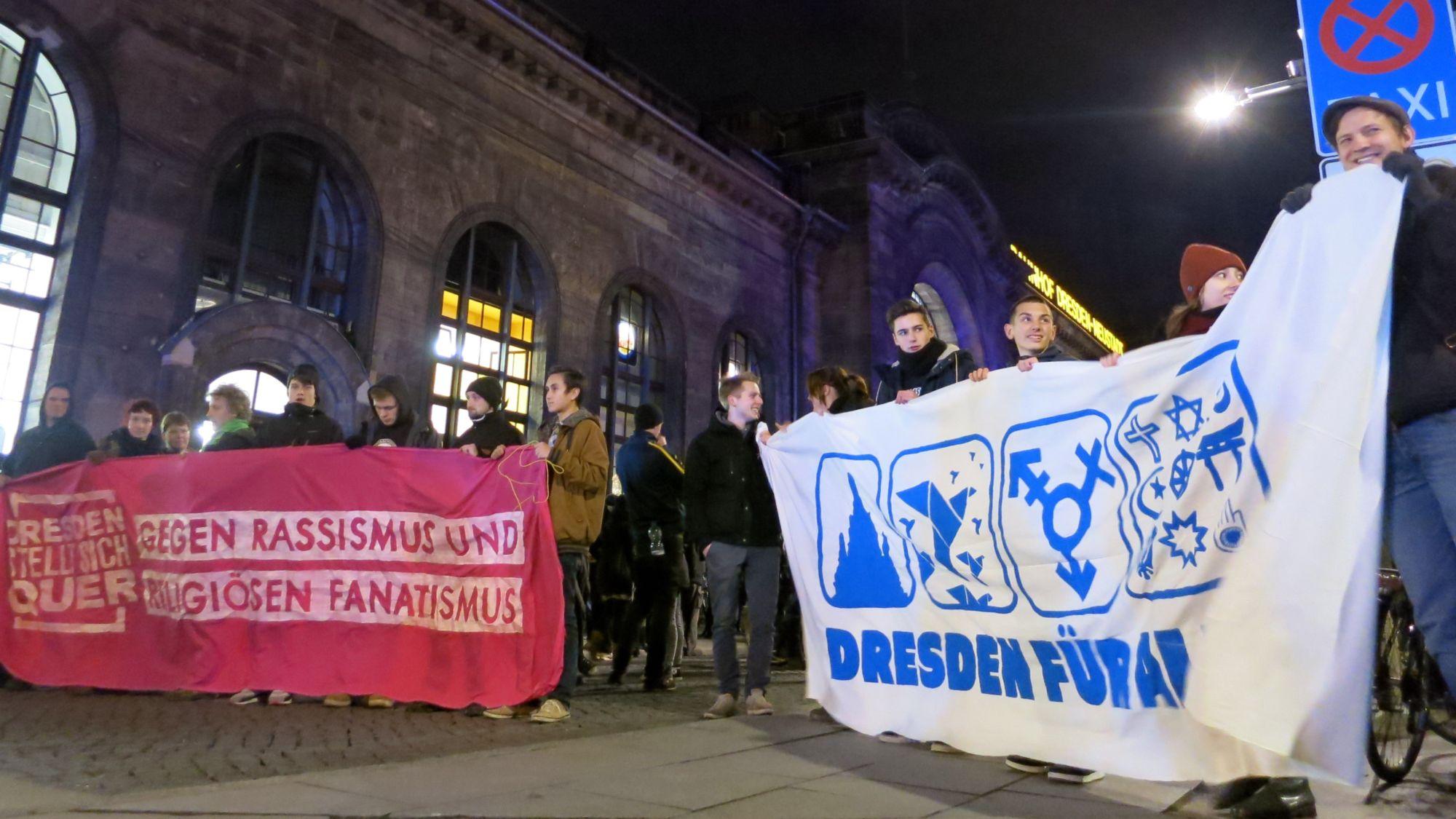 NoPegida-Demo am 15. Dezember