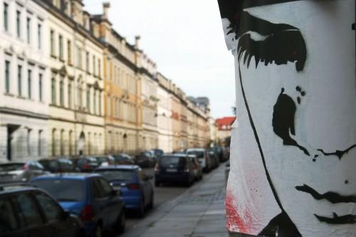Die Förstereistraße mit Street-Art - Foto: Archiv