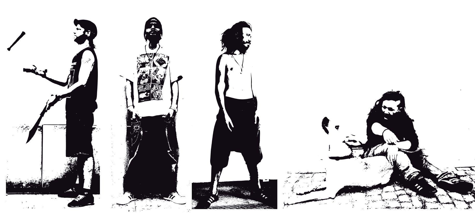 Bild aus der Ausstellung - Foto: Treberhilfe