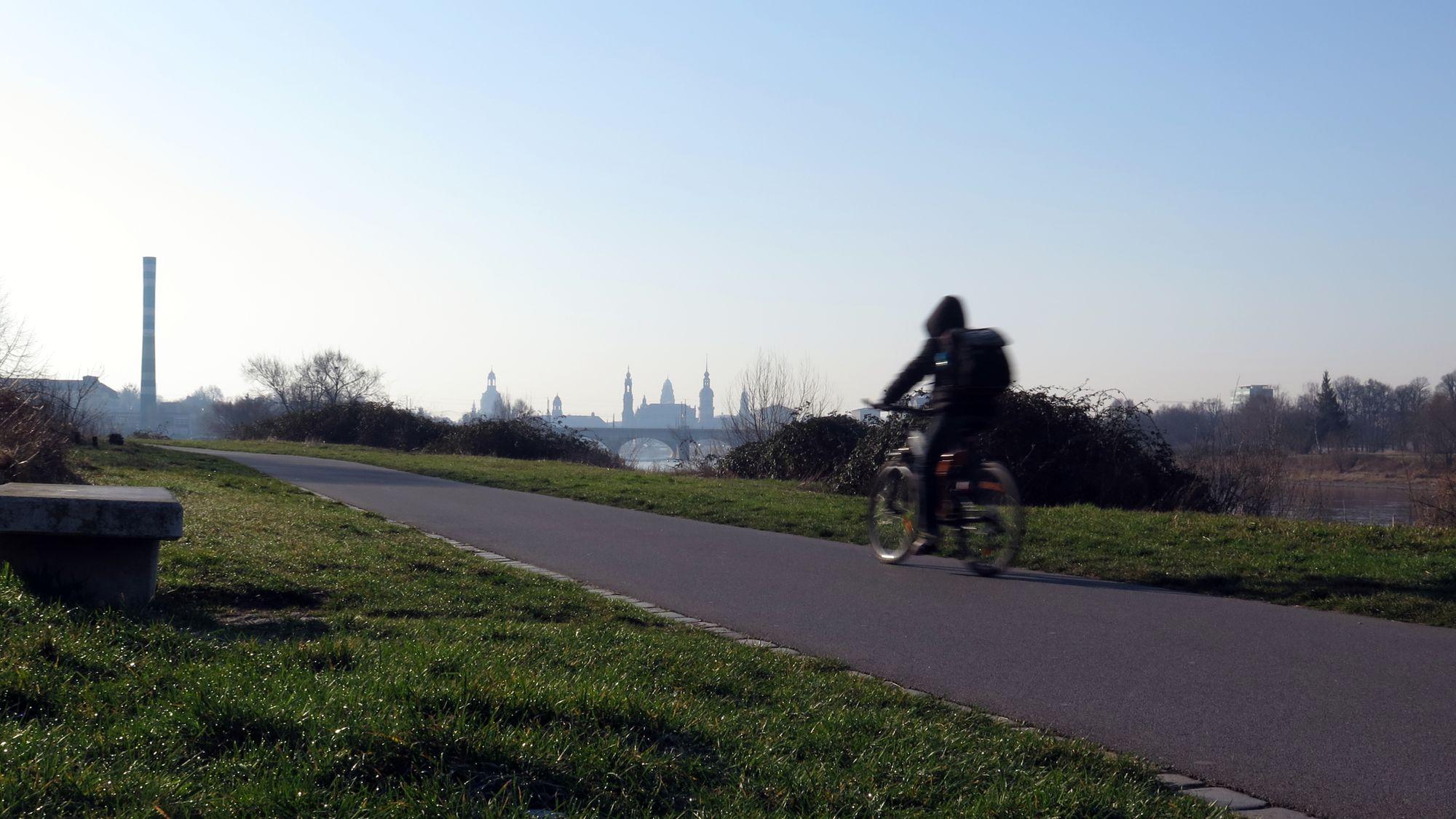 Wahlkampf um Radweg