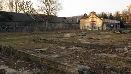So sah der Russensportplatz im März 2015 aus.