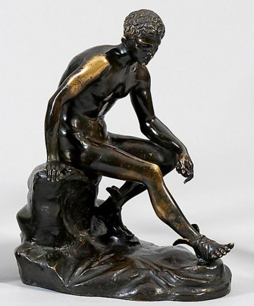 """""""Sitzender Hermes"""" gestohlen"""
