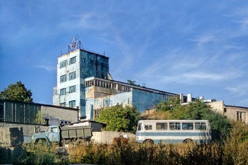 Als Fabrik genutzte Kirche in Kaliningrad - Foto: Robert Conrad